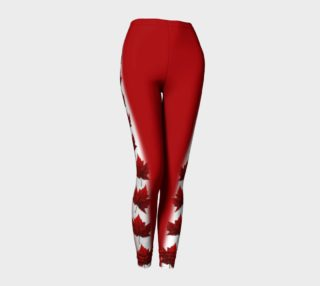 Canada Leggings Canada Stretchy Pants preview