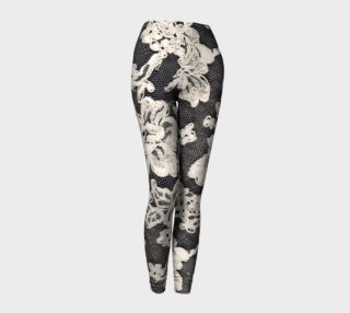 Aperçu de black and white lace