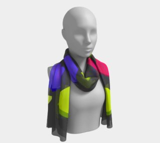 Brighter Raindrops Long Scarf preview