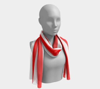 Mainz Carnival scarf, Carnival scarf,   Red and white striped scarf ,  Red and white striped carnival scarf, Red and white striped clothes preview