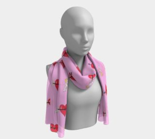 Struck by Cupid's Arrow Long Scarf preview