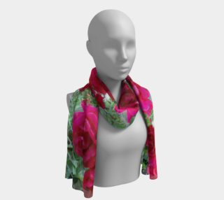 Lovely rose  scarf preview