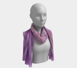 Purple Bud Explosion Long Scarf preview