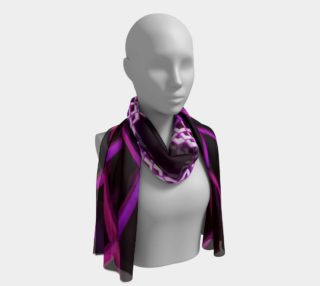 abstract art design long scarf preview