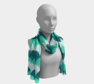 Mermaid Scales Long Scarf preview