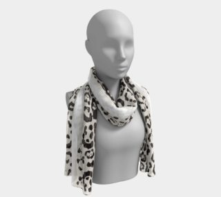 Leopard Animal Print Black and White  preview