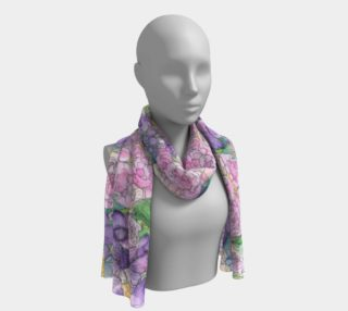Peony & Poppy Long Scarf preview