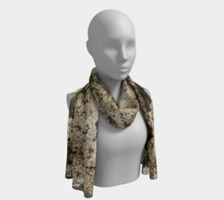 Ivory Lilac Scarf preview