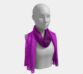 Purple Spiral Long Scarf preview