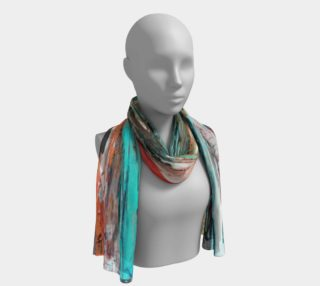 Foulard long Abstrait I preview