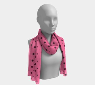 Tracks Bubble Gum Long Scarf preview