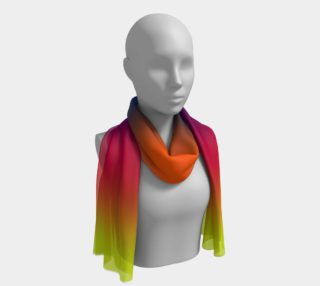 Sunset Long Scarf preview