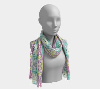 Arcadia Abstract Long Scarf preview