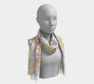 Sunflower Floral Garden Long Scarf preview