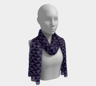 Aperçu de Black and Ultra Violet Purple Triangles