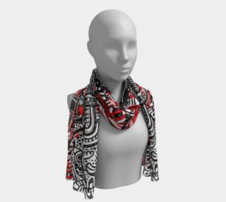 Tribal scarf preview