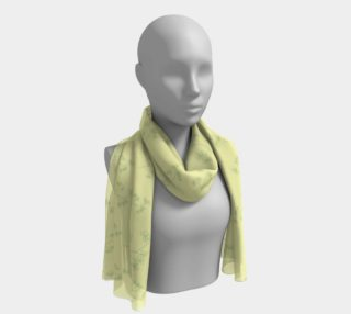 Charming Blooms Delicate Foliage Long Scarf preview