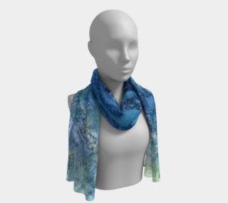 Aperçu de Gathering Blue Long Scarf