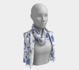 Foulard long blanc • Leaves preview