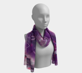 Foulard long Astral mauve preview