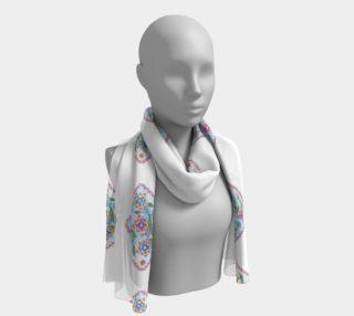 floral motif white preview