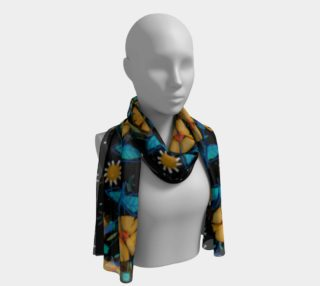 Foulard long bouton d'or preview