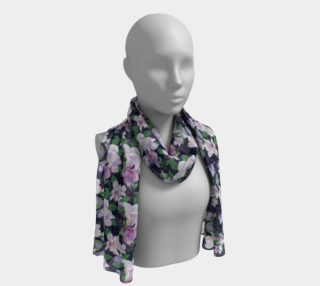 Magnolia Floral Frenzy Long Scarf preview