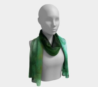 Emerald Turquoise 2 Long Scarf preview