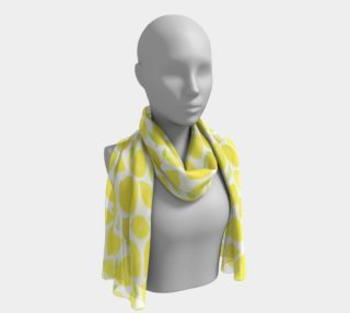 Tropical Lemons Scarf preview