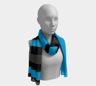 Aperçu de Blue with Black and gray Stripes