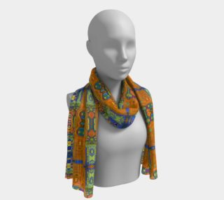 Channeling Vincent / Vincent Style Fashion Print Long Scarf preview