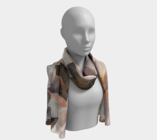 Magnolias-Long Scarf preview