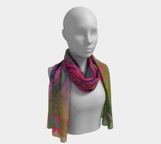 Aperçu de Galactic Bloom long scarf