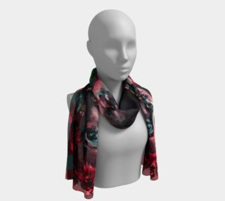 Girl with the Devin Earring  Long Scarf preview