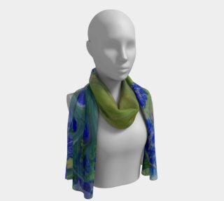 Aperçu de Blue to Yellow energy long scarf