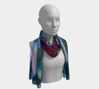 Aperçu de Cosmic water Long scarf