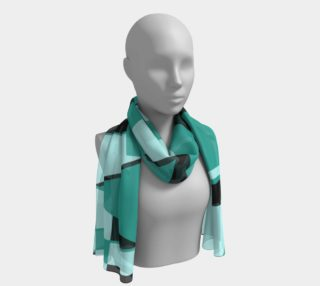 Riotous Symmetry in Teal preview