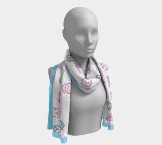 Overwatch D.VA kawaii pattern long scarf preview