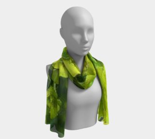 Euphorbia, the mimicking plants on long scarf. preview