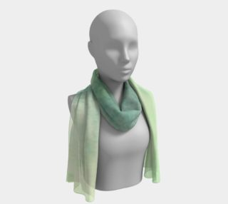 Green Dimension Flower Long Scarf preview
