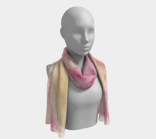 Pink Flowerets Long Scarf preview