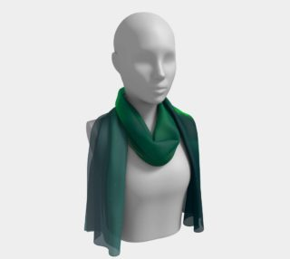 Vivid Northern Lights Long Scarf preview
