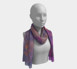 Flesh Flowers long scarf preview