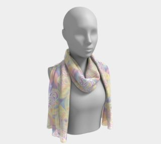 Aperçu de Pastel Goth Long Scarf by Tabz Jones