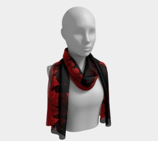 Canadian Maple Leaf Scarves Red Canada Scarf Souvenir preview