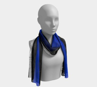 Thin Blue Line Flag Long Scarf preview