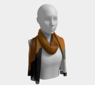 "Aperçu de Africa Series Abstract Silk Scarf by JMBowcott Designs ""Art To Wear"""