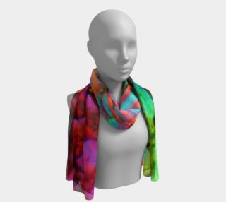 Rainbow Love Long Scarf preview