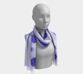 Lilac Flowers Scarf preview