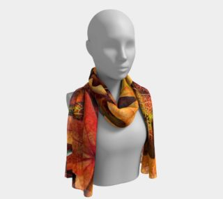 Fall leaves Long Scarf preview